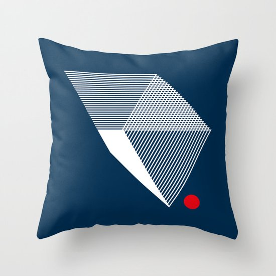V like V Throw Pillow