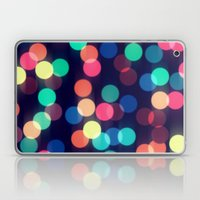 Round bokeh Laptop & iPad Skin