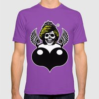 Dead Princess Mens Fitted Tee Ultraviolet SMALL