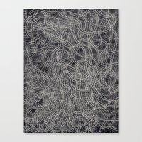 Lover's knot Canvas Print