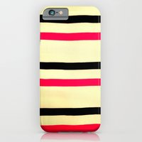 iPhone & iPod Case featuring Sunrise Stripes by kangarooster