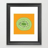 Kiwi Kraze Framed Art Print