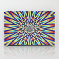 Red Blue And Yellow Supe… iPad Case