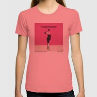 No204 My Breakfast At Ti… Womens Fitted Tee Pomegranate SMALL