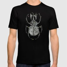 Sr Coprofago - Beetle shit Black Mens Fitted Tee SMALL