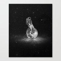 Lunar Cycle Canvas Print