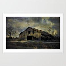 Old Rugged Barn Art Print