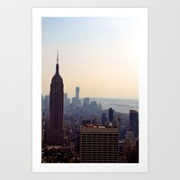 The Empire State Art Print