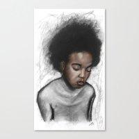 Closed Canvas Print