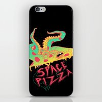 Space Pizza iPhone & iPod Skin