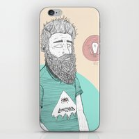 BEARDMAN iPhone & iPod Skin
