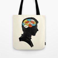 Han Phrenology Tote Bag