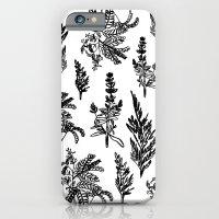 fleur noir iPhone 6 Slim Case