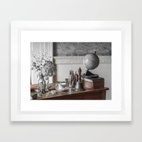 Memories Of A Distant Past Framed Art Print