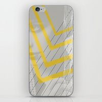 Lady In Lines iPhone & iPod Skin