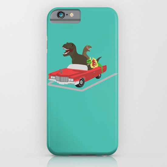 Jurassic Parking Only iPhone & iPod Case