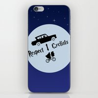 Respect Cyclists iPhone & iPod Skin