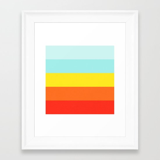 mindscape 5 Framed Art Print