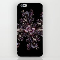 Feather flowers iPhone & iPod Skin