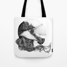 Longboard Girl Tote Bag