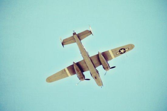 B-25 bomber Art Print