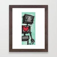 h3@rT Framed Art Print