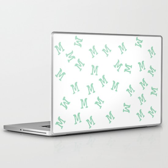 M is for Mint Laptop & iPad Skin