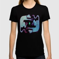 Cats Womens Fitted Tee Black SMALL