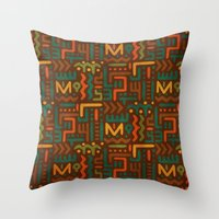 African Throw Pillow