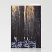 In The Woods There Was A… Stationery Cards