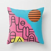 Espectre (#2) Throw Pillow