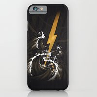 iPhone & iPod Case featuring Electric Guitar Storm by Patrick Zedouard c0y0te7