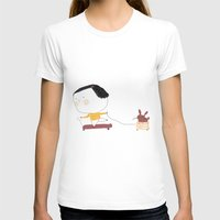 Speed Womens Fitted Tee White SMALL