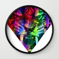 Tigre 2 Wall Clock