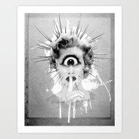 Shhh… Redux Art Print