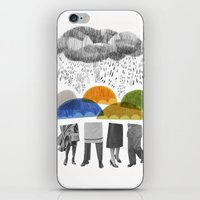 Cloudy Days For Uppercas… iPhone & iPod Skin