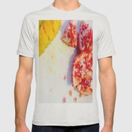 Frutas Geométricas Mens Fitted Tee Silver SMALL