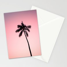 palm tree ver.pink Stationery Cards