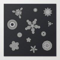 TeknoFlake Canvas Print