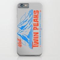 Visit Twin Peaks (orange… iPhone 6 Slim Case