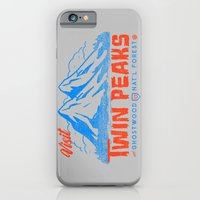 Visit Twin Peaks (orange… iPhone 6 Slim Case