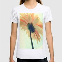 Flower in the spring Womens Fitted Tee Ash Grey SMALL