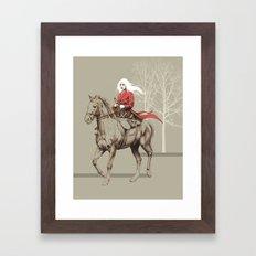 On the Prowl Framed Art Print