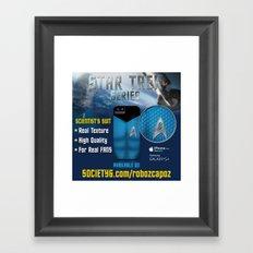 Star Trek Series - Scientist Suit Framed Art Print