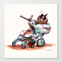 The Off-Road Scout Buggy Canvas Print