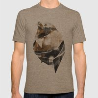 broken creature Mens Fitted Tee Tri-Coffee SMALL
