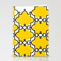 Geometric Painting. Brus… Stationery Cards
