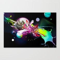 Splash Runner Canvas Print