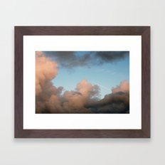 rocket ship... Framed Art Print