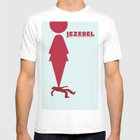 Essence of Jezebel Mens Fitted Tee White SMALL